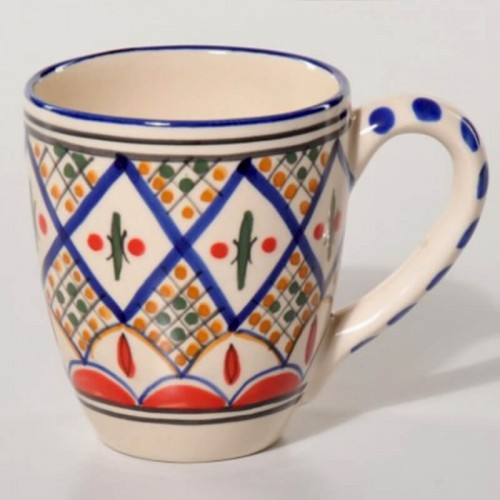 Taza decorada