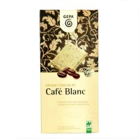 Chocolate BIO blanco café